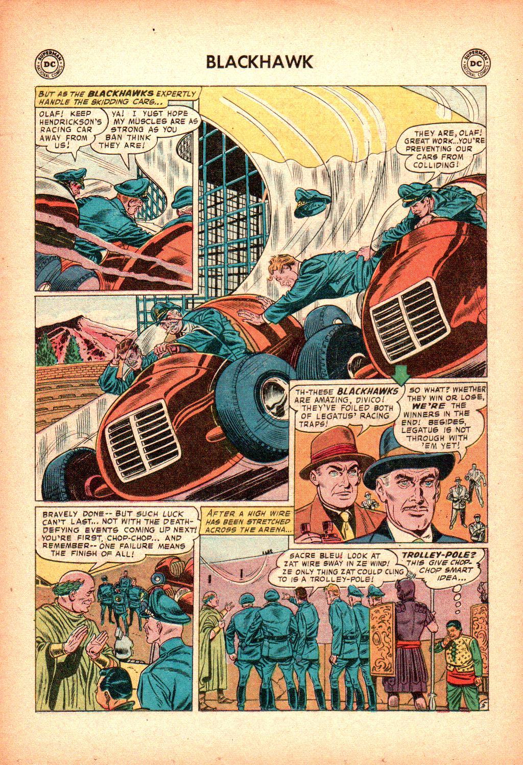 Blackhawk (1957) Issue #128 #21 - English 18