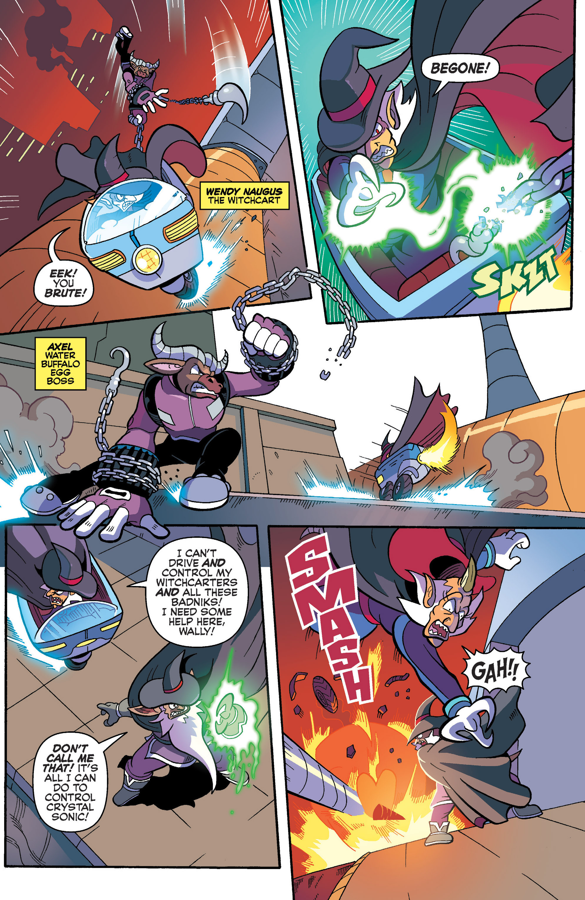 Read online Sonic Universe comic -  Issue #86 - 7