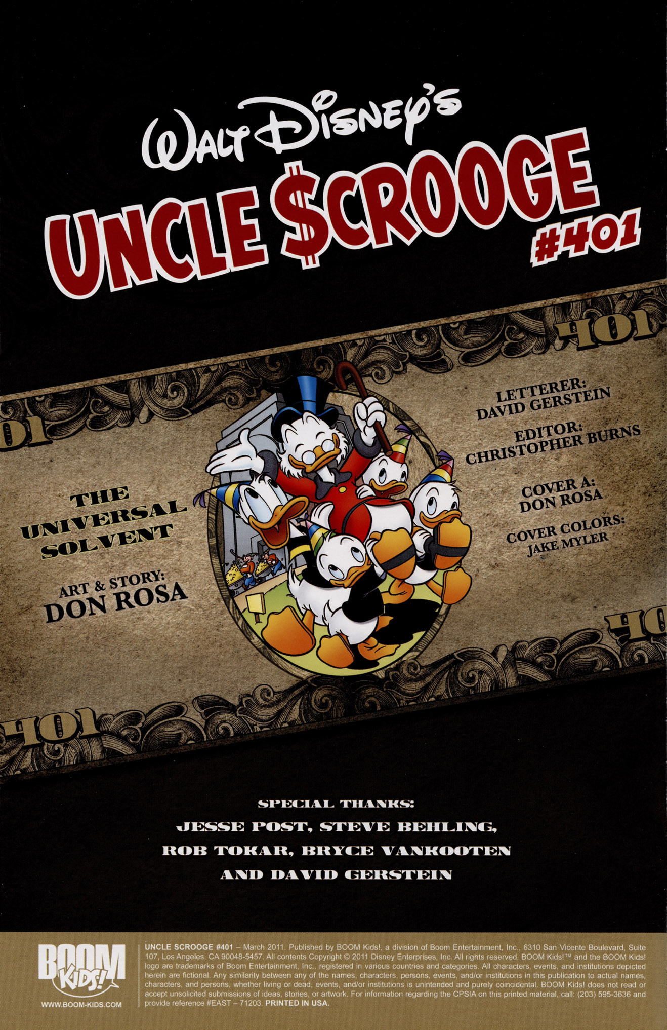 Read online Uncle Scrooge (1953) comic -  Issue #401 - 2