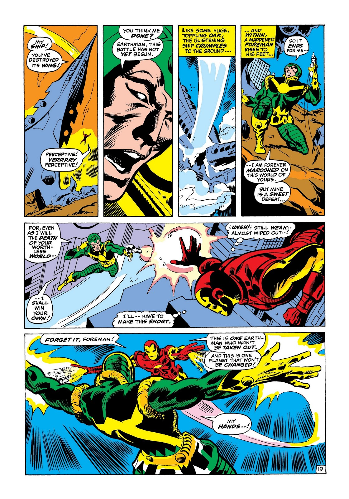 Read online Marvel Masterworks: The Invincible Iron Man comic -  Issue # TPB 7 (Part 3) - 67