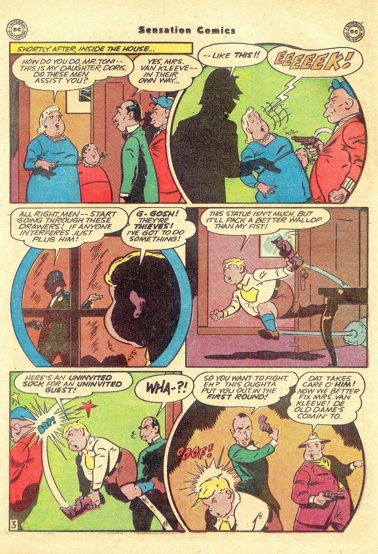 Read online Sensation (Mystery) Comics comic -  Issue #57 - 19