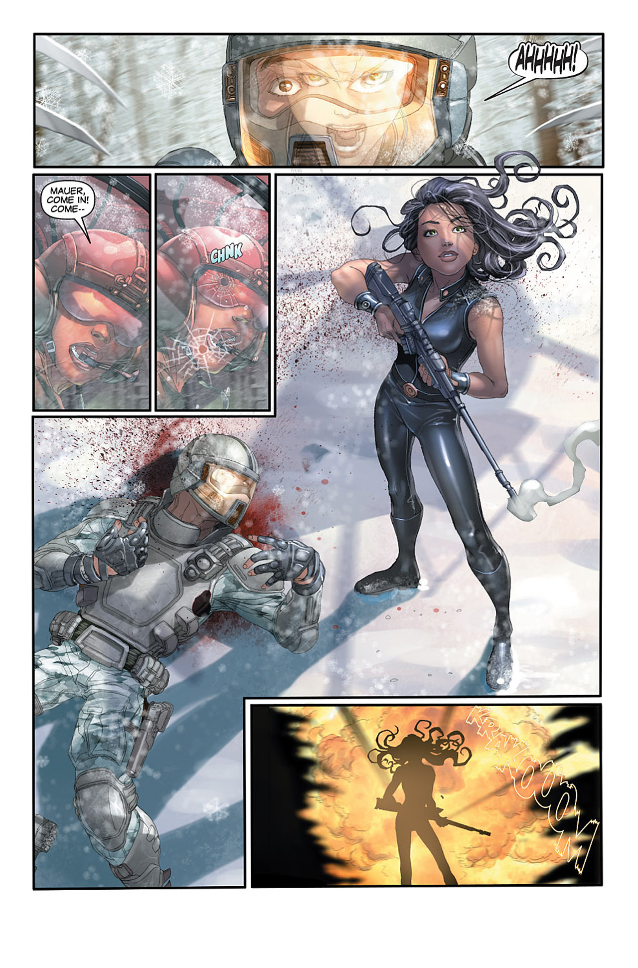 Read online X-23: Target X comic -  Issue #1 - 16