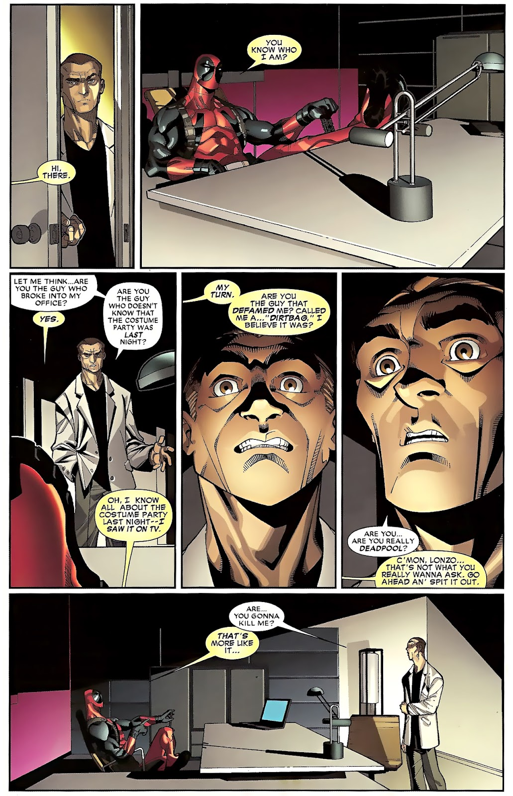 Read online Deadpool (2008) comic -  Issue #23 - 7