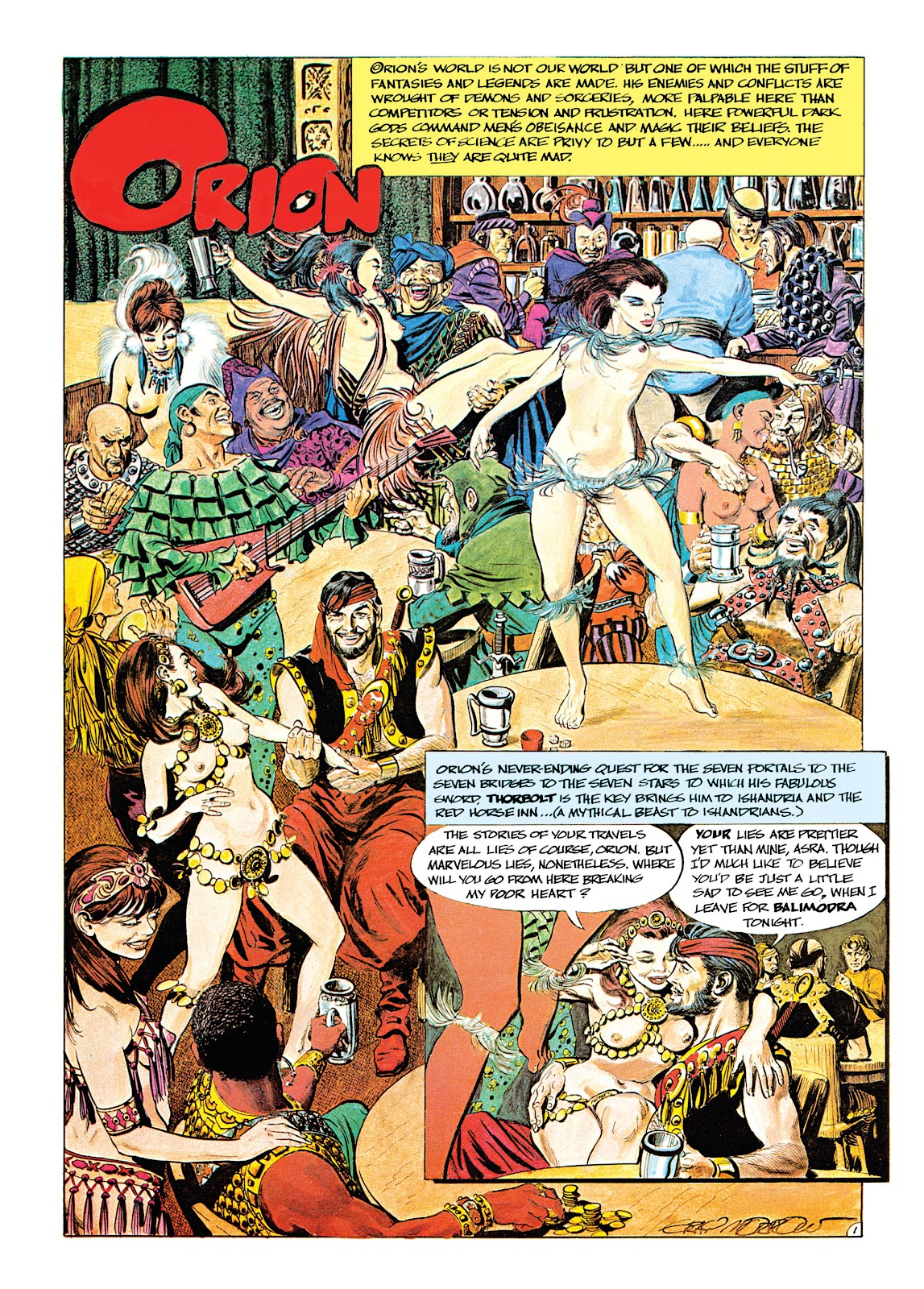 Read online Orion and Edge of Chaos comic -  Issue # TPB - 11