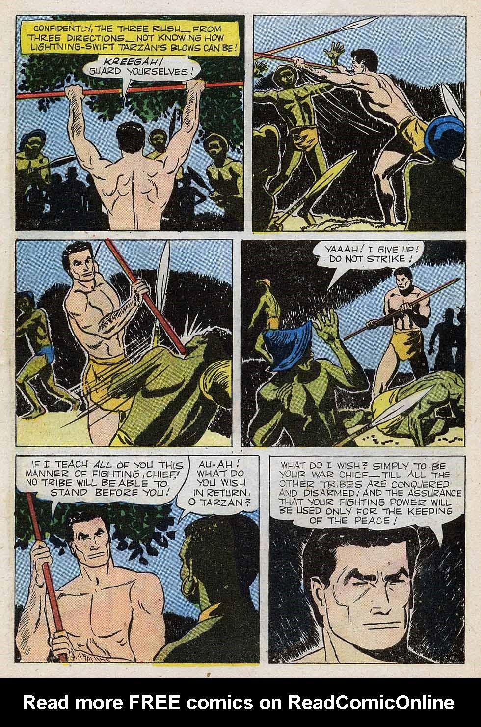Tarzan (1948) issue 101 - Page 8