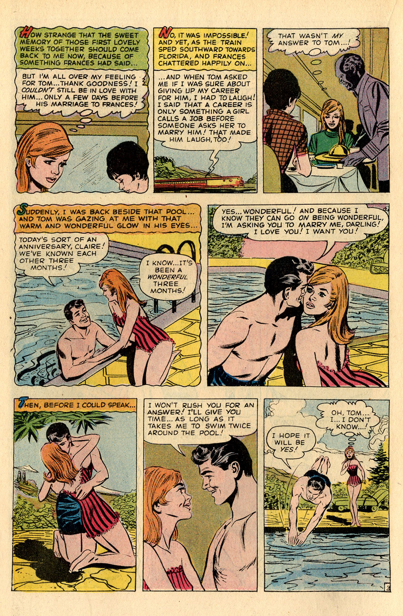 Read online Secret Hearts comic -  Issue #137 - 14