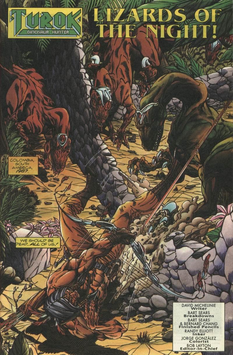 Read online Turok, Dinosaur Hunter (1993) comic -  Issue #2 - 2