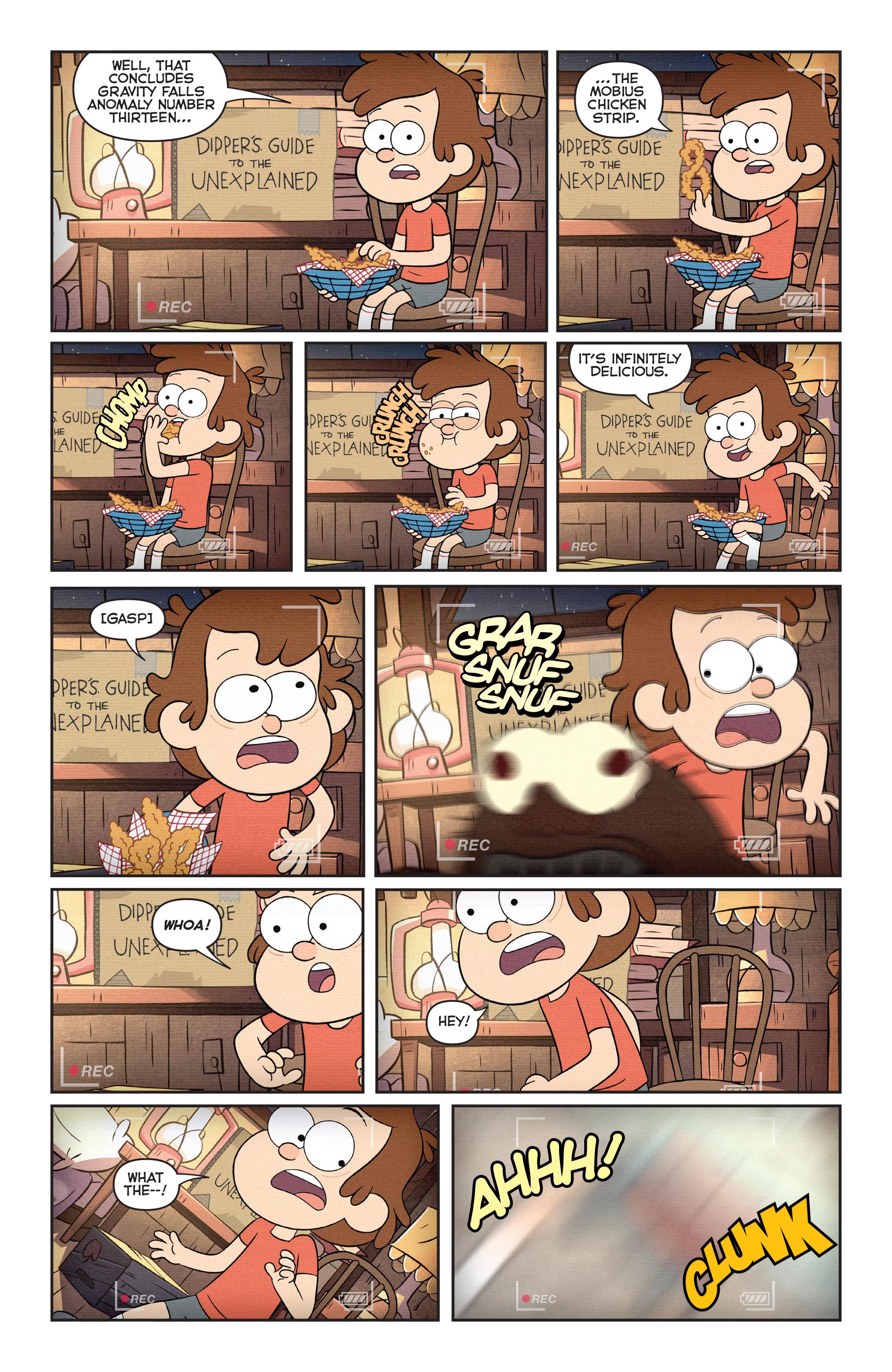 Read online Disney Gravity Falls Shorts Cinestory Comic comic -  Issue #1 - 3