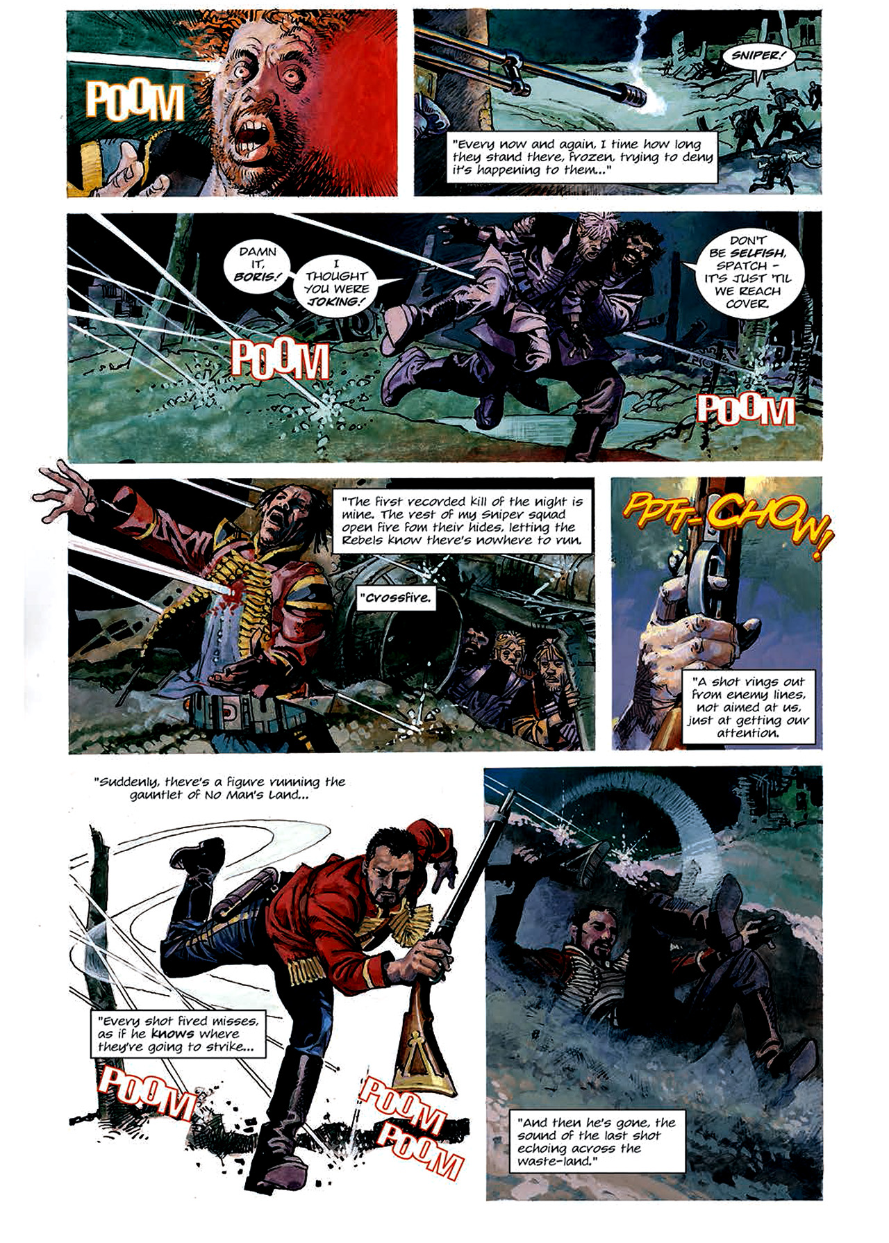 Read online Nikolai Dante comic -  Issue # TPB 4 - 61