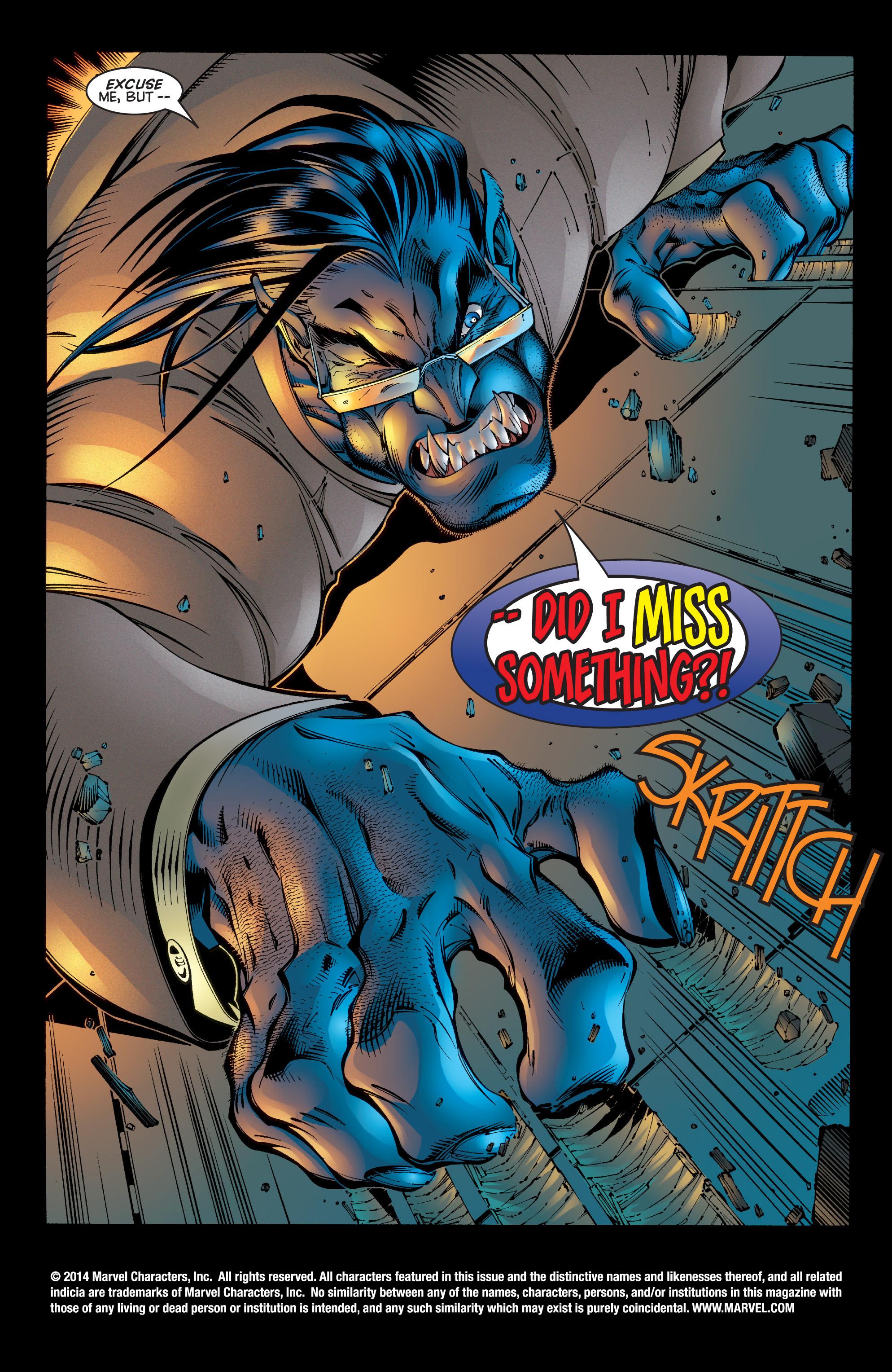 Read online Uncanny X-Men (1963) comic -  Issue #342 - 2