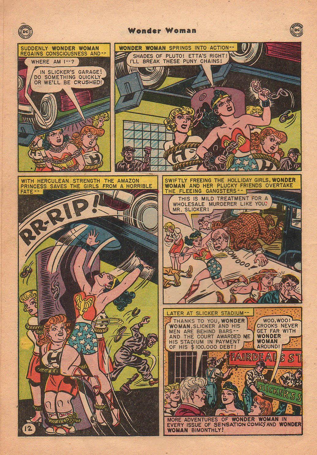 Read online Wonder Woman (1942) comic -  Issue #42 - 15