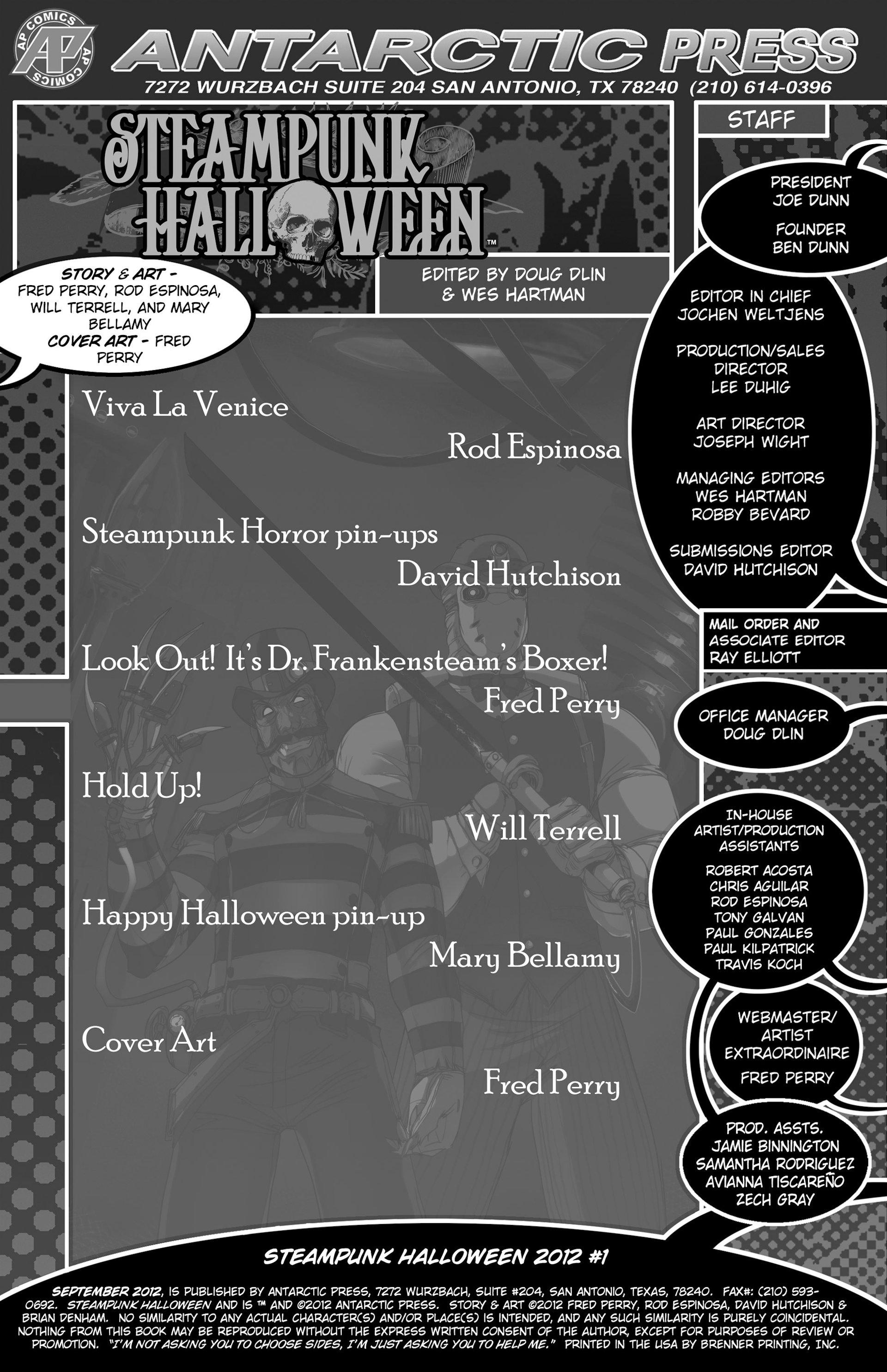 Read online Steampunk Halloween 2012 comic -  Issue # Full - 2