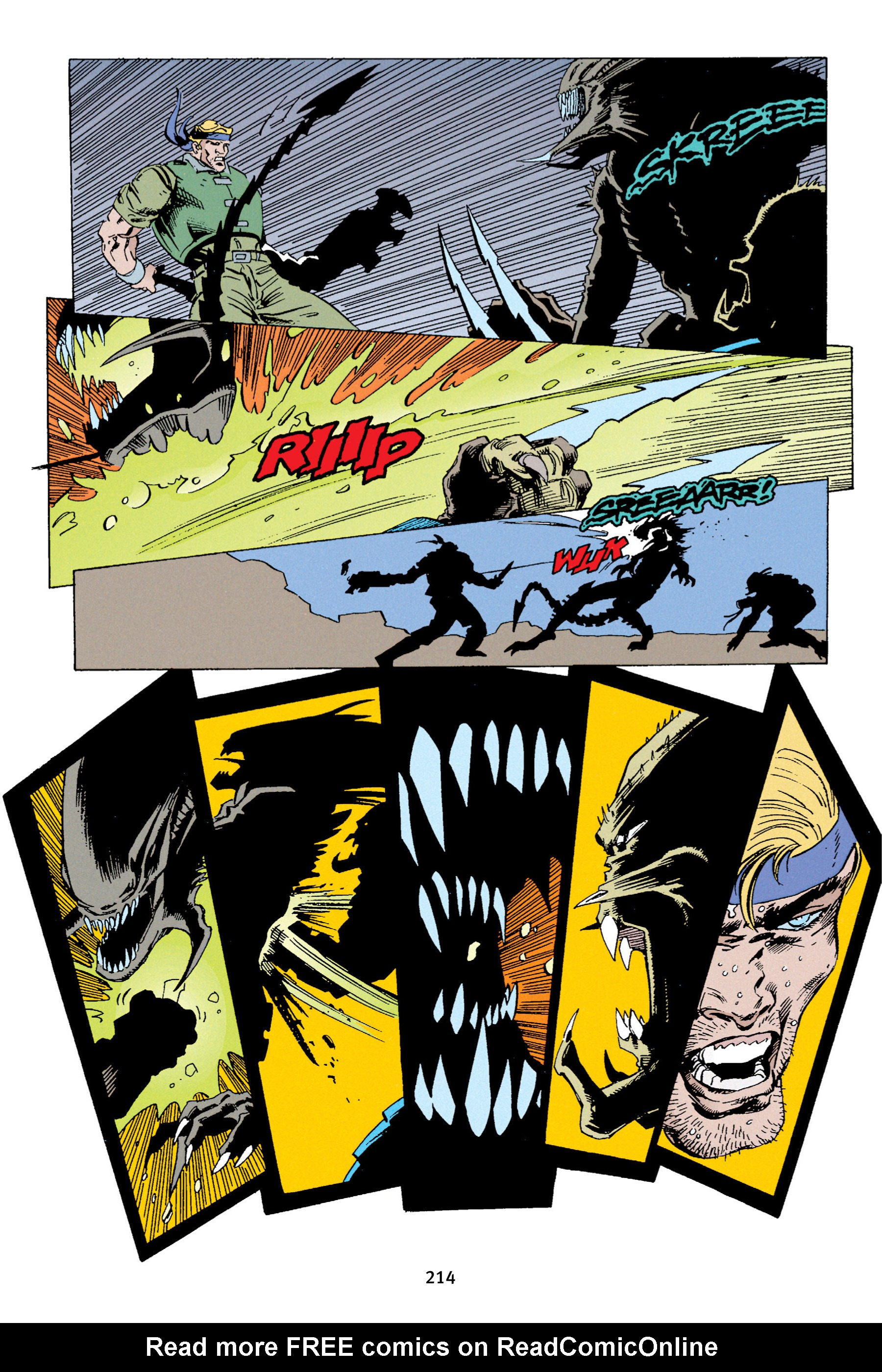 Read online Aliens vs. Predator Omnibus comic -  Issue # _TPB 1 Part 3 - 10