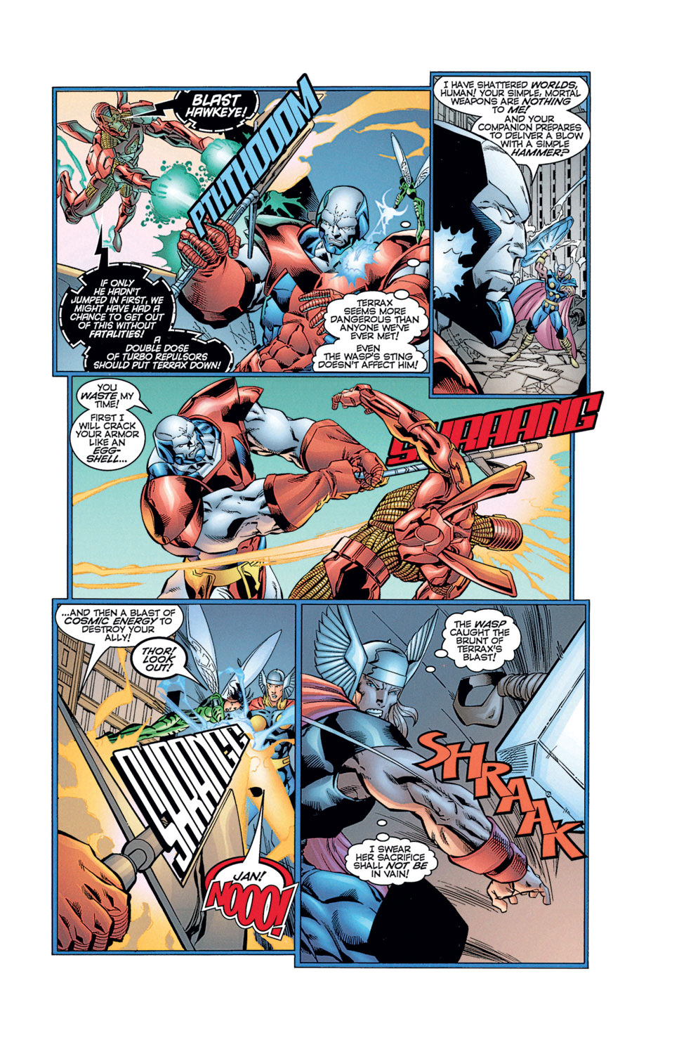 Read online Avengers (1996) comic -  Issue #12 - 30