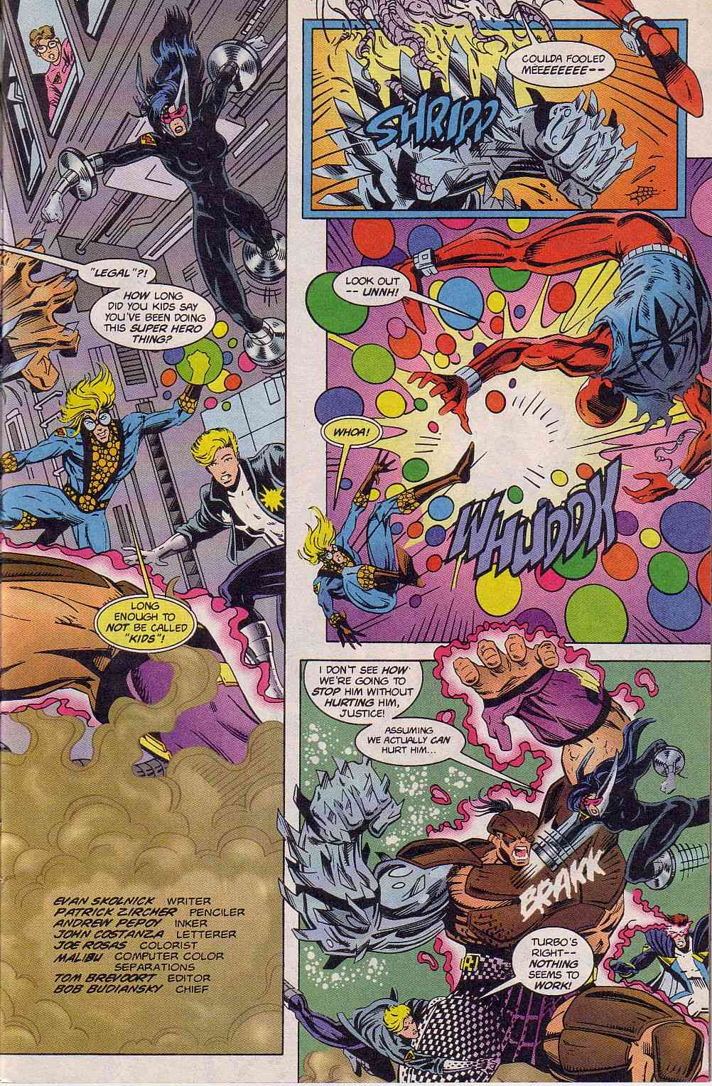 The New Warriors Issue #63 #67 - English 4