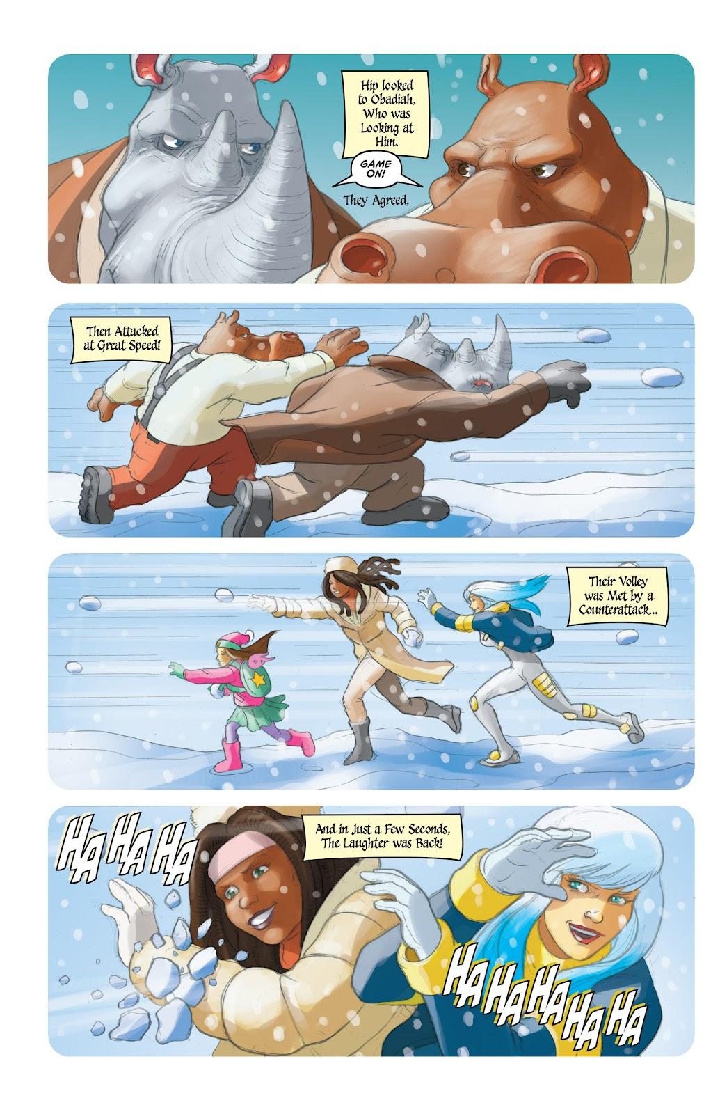 Read online Elephantmen 2261 Season Two: The Pentalion Job comic -  Issue # TPB - 113