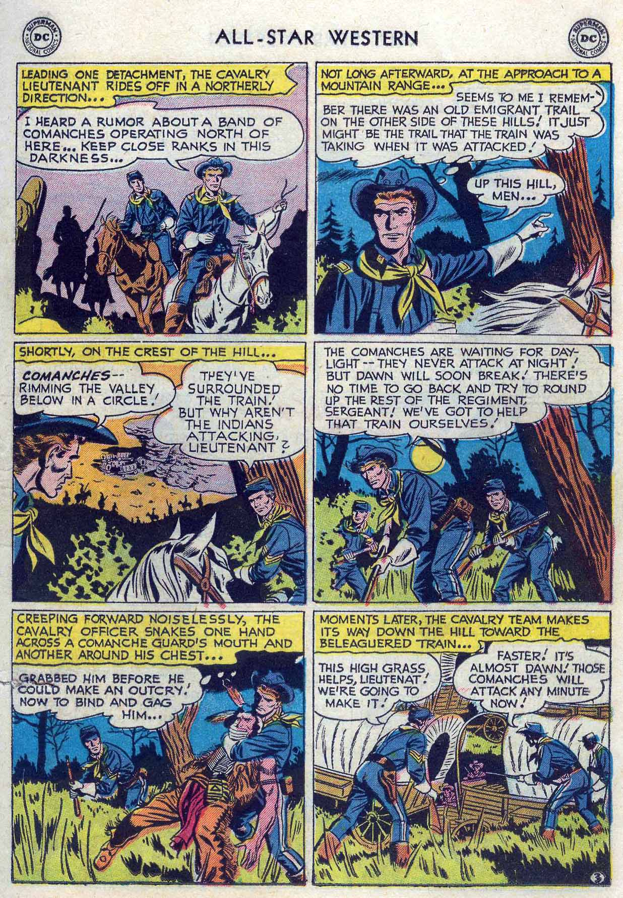 Read online All-Star Western (1951) comic -  Issue #85 - 21