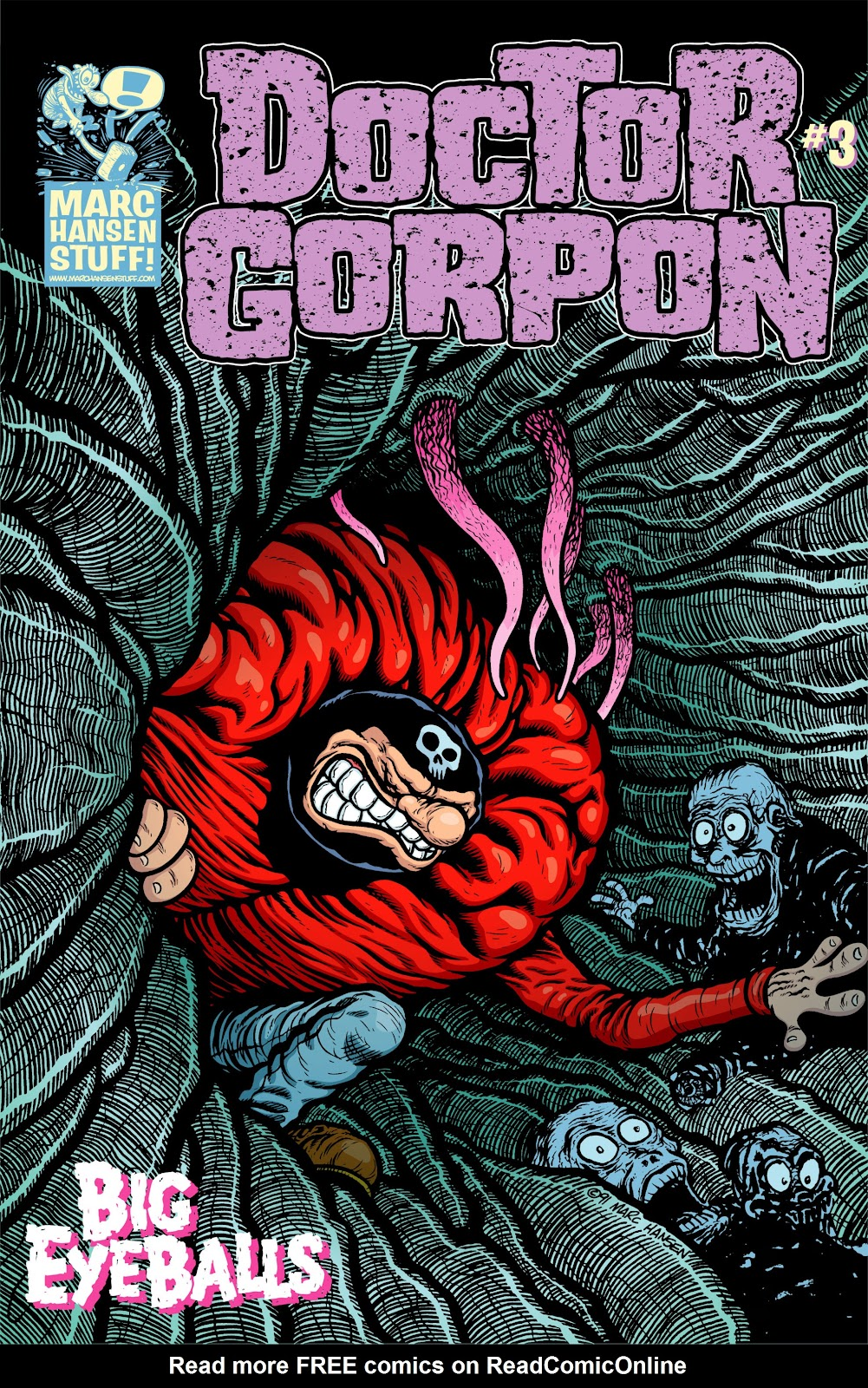 Doctor Gorpon issue 3 - Page 1