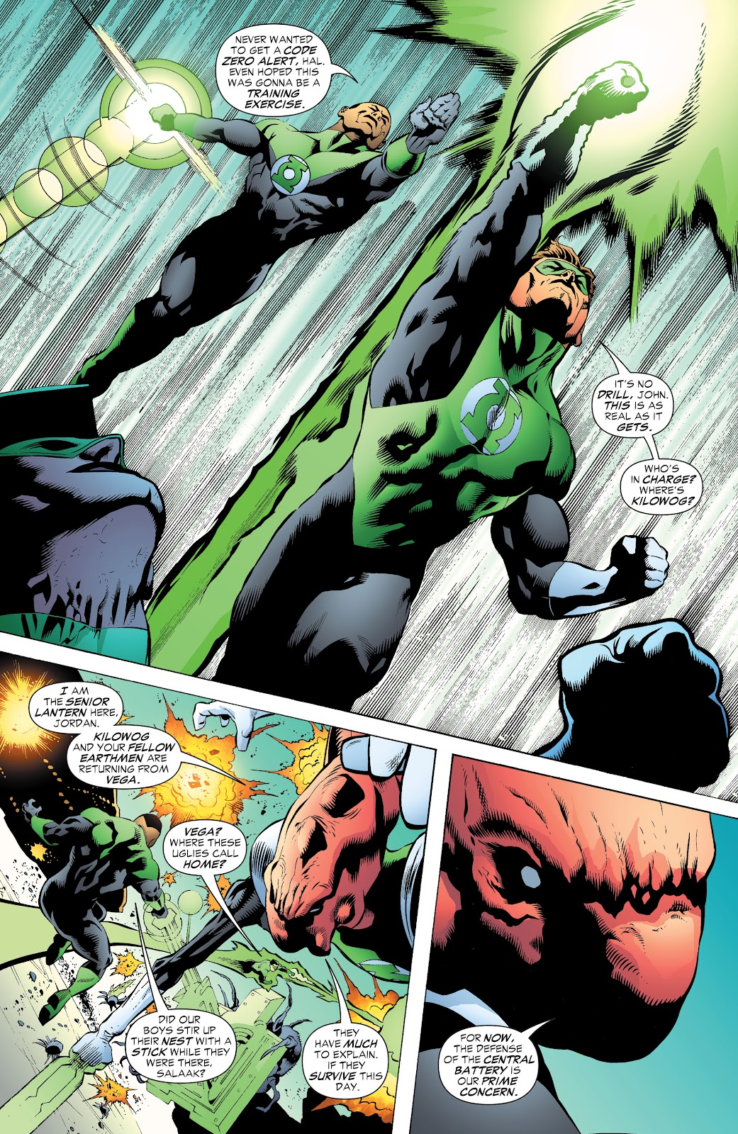 Read online Green Lantern by Geoff Johns comic -  Issue # TPB 1 (Part 3) - 77