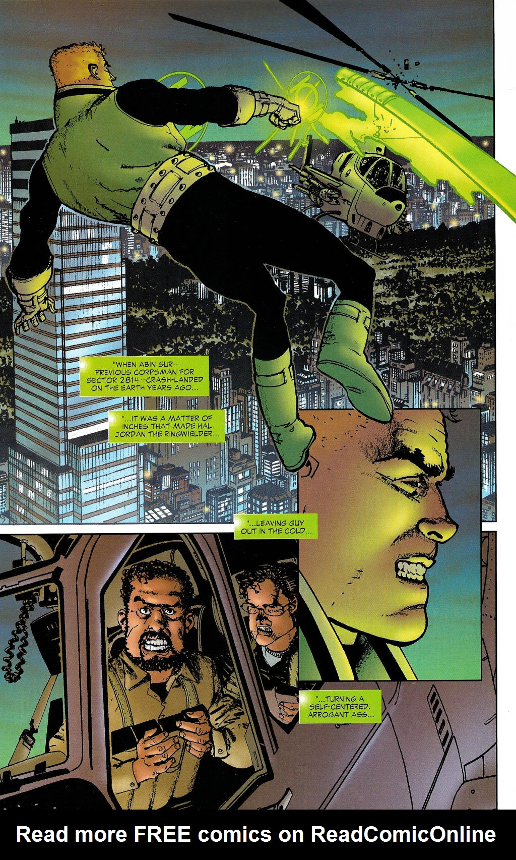 Read online Guy Gardner: Collateral Damage comic -  Issue #1 - 9
