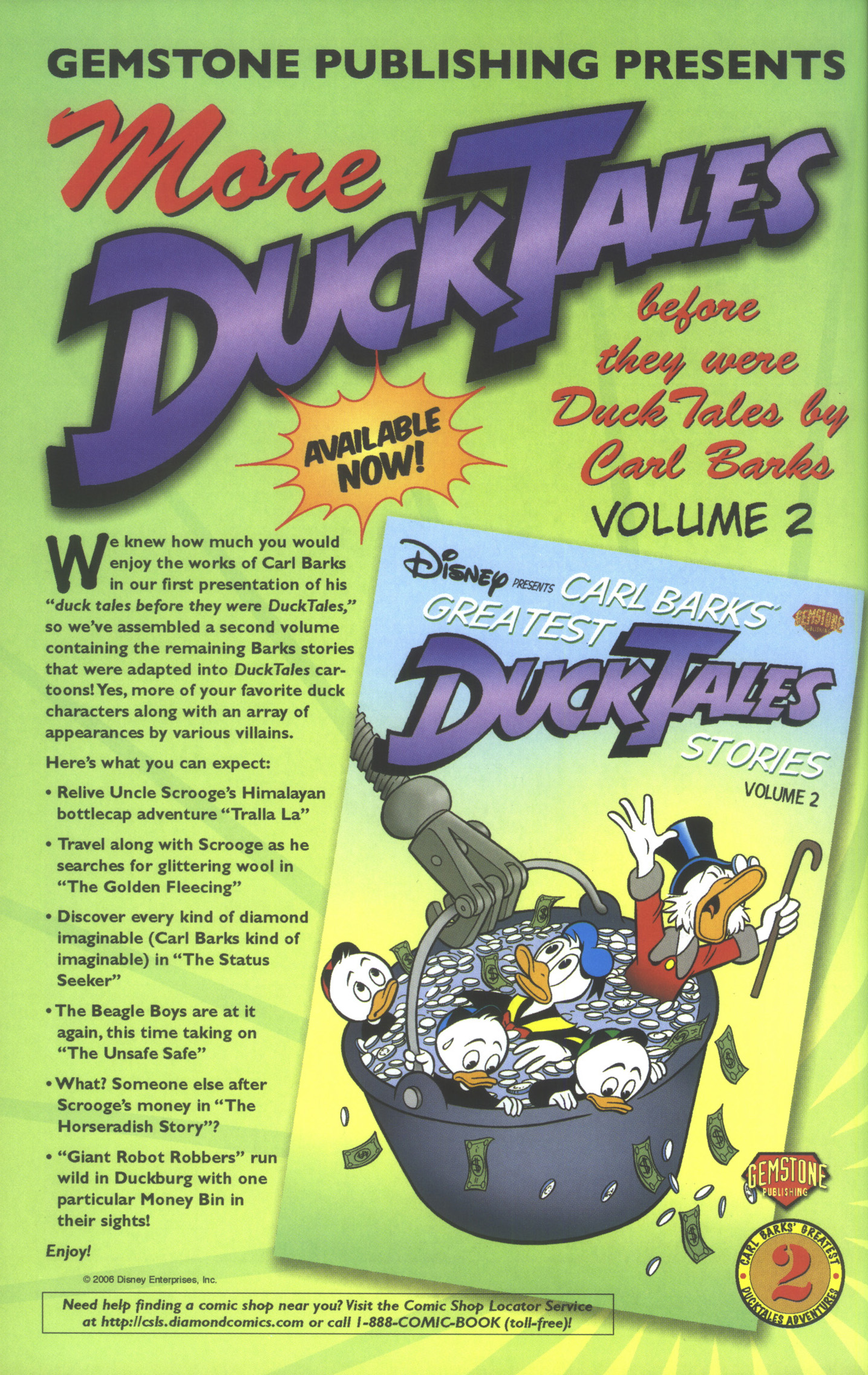 Read online Uncle Scrooge (1953) comic -  Issue #358 - 46