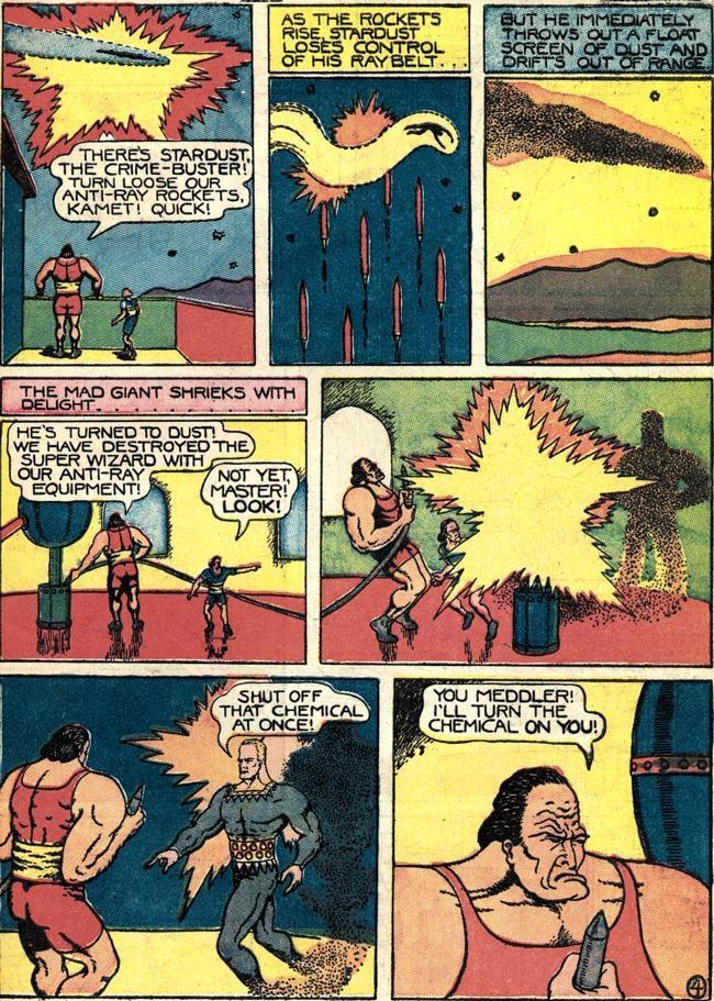 Read online Fantastic Comics comic -  Issue #4 - 56