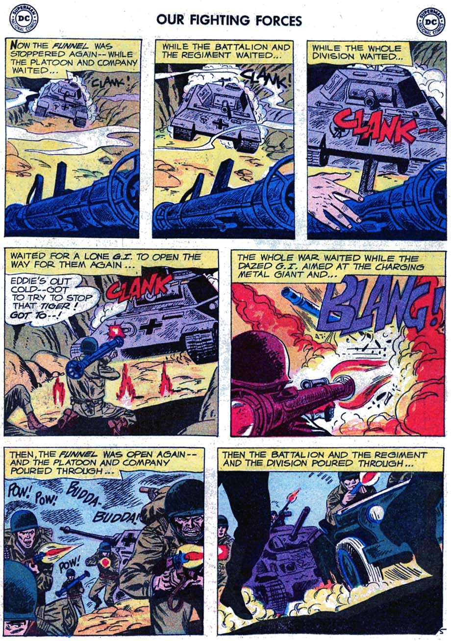 Our Fighting Forces (1954) issue 46 - Page 31