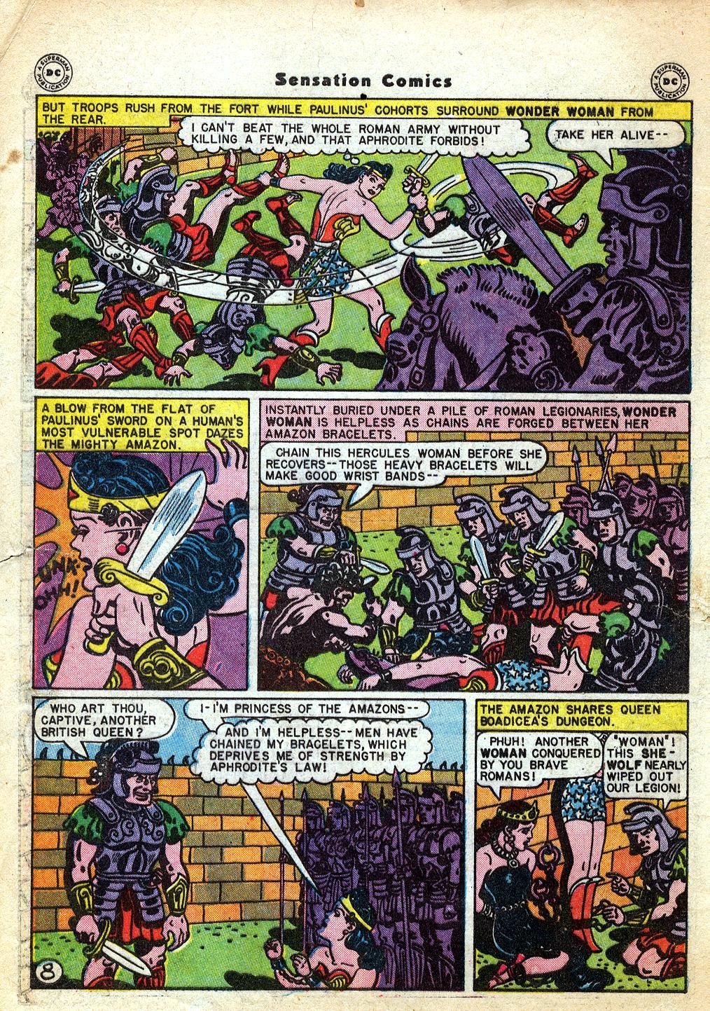 Read online Sensation (Mystery) Comics comic -  Issue #60 - 10
