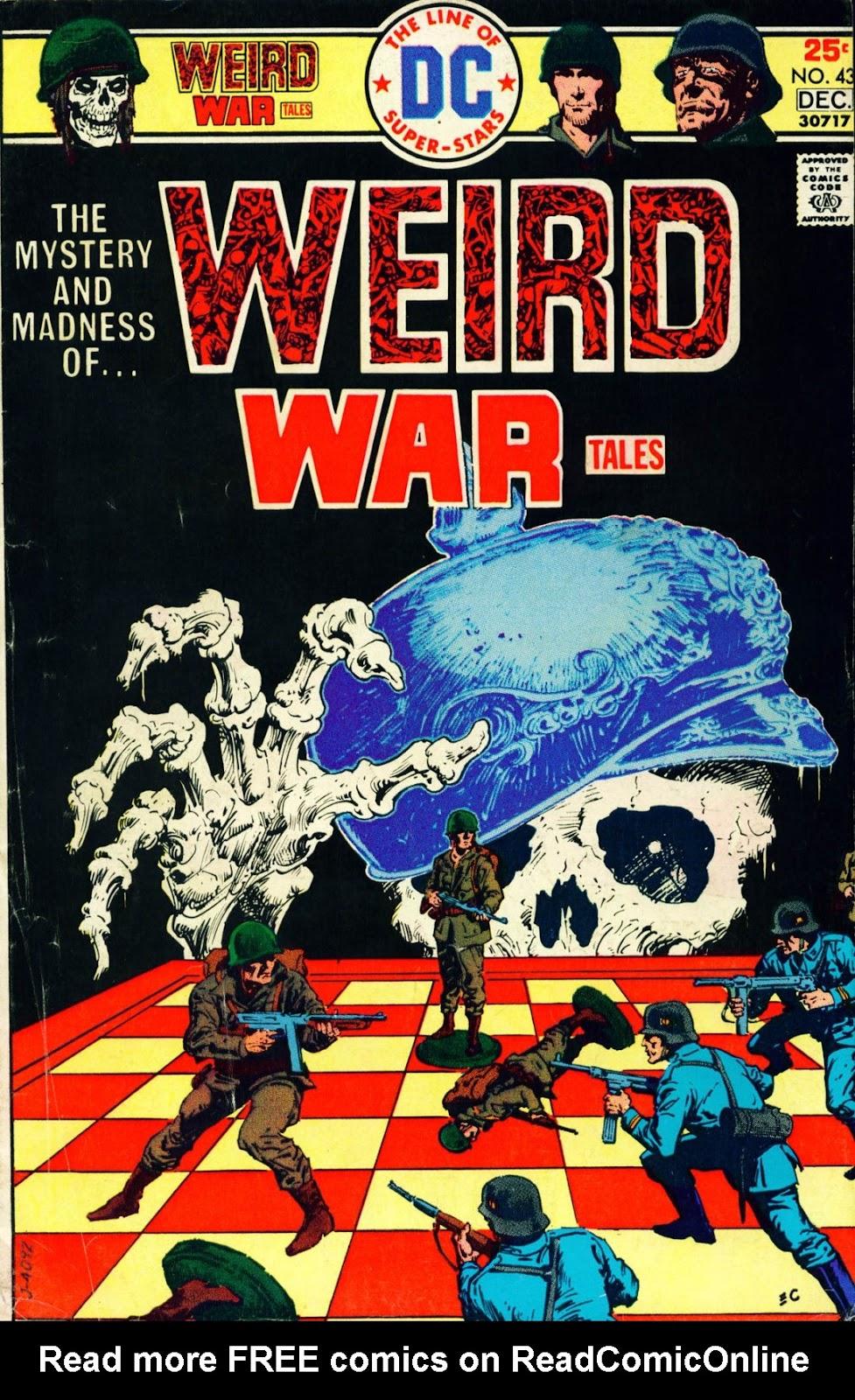 Weird War Tales (1971) issue 43 - Page 1
