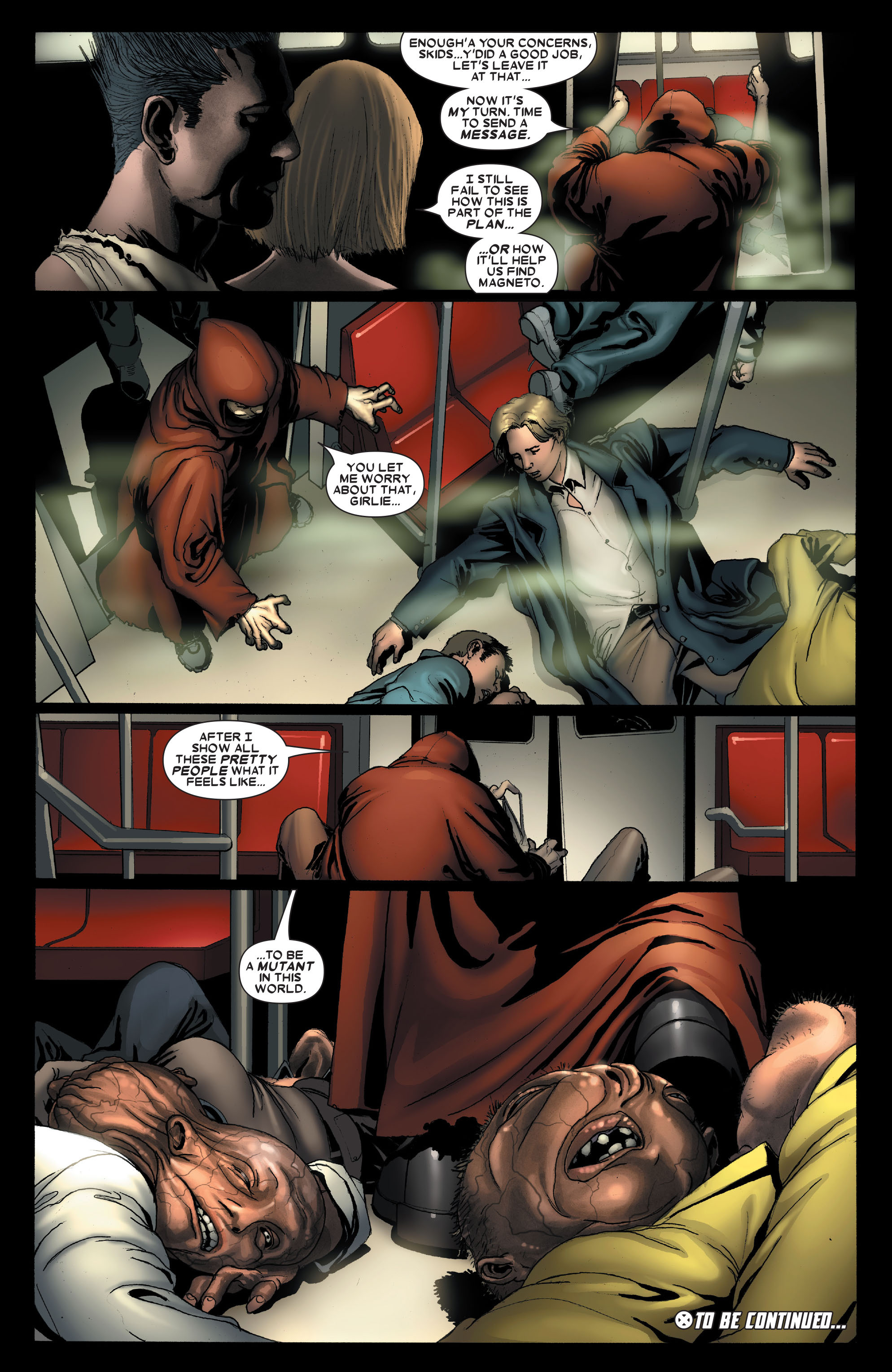 Read online Uncanny X-Men (1963) comic -  Issue #488 - 23
