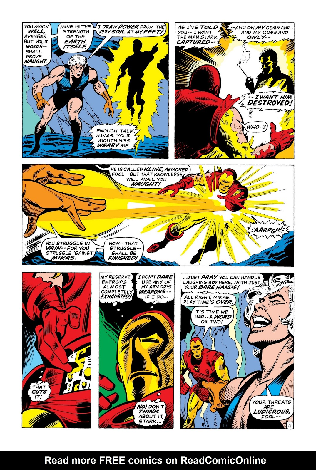 Read online Marvel Masterworks: The Invincible Iron Man comic -  Issue # TPB 8 (Part 1) - 98