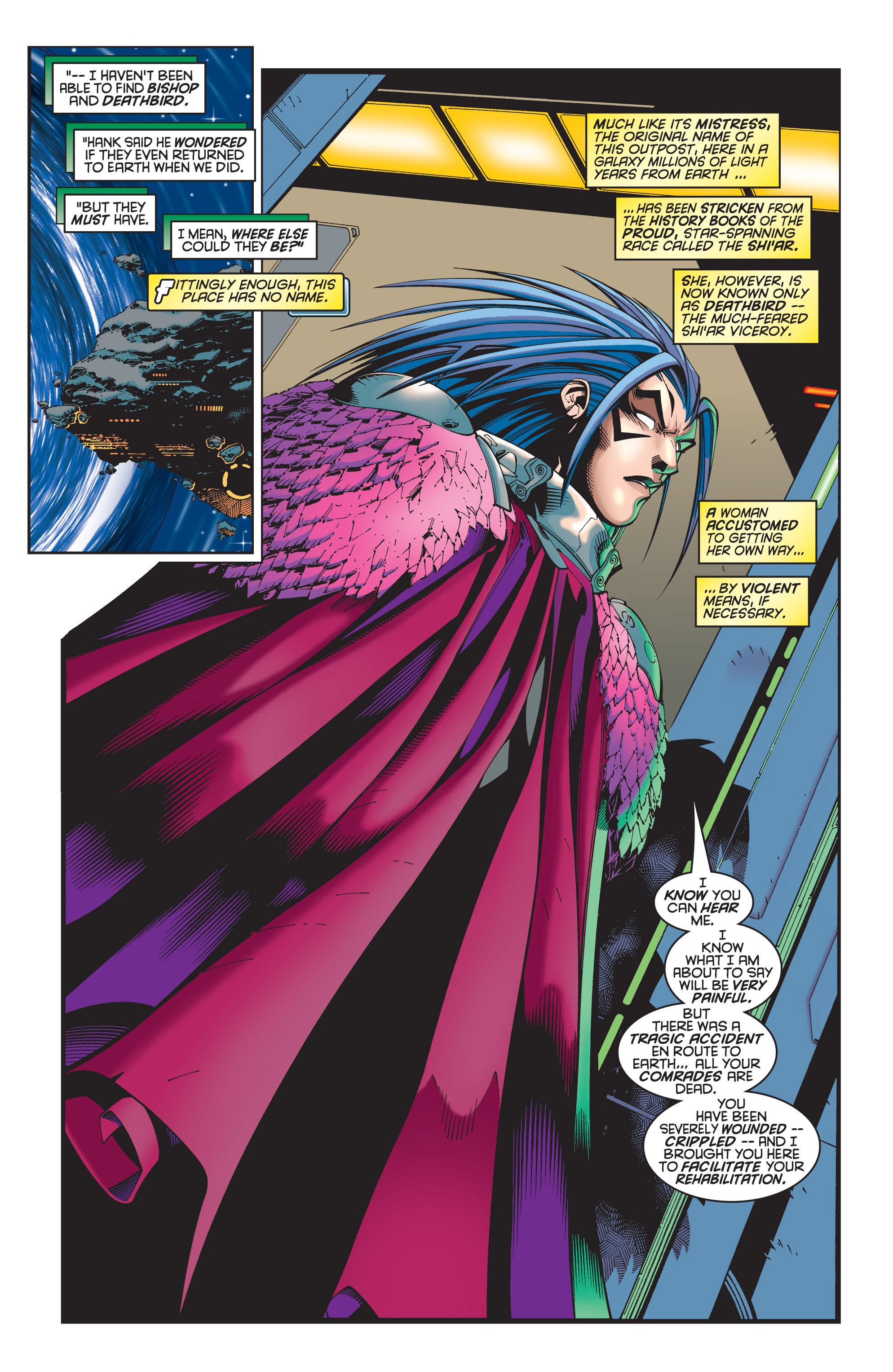 Read online Uncanny X-Men (1963) comic -  Issue #348 - 6
