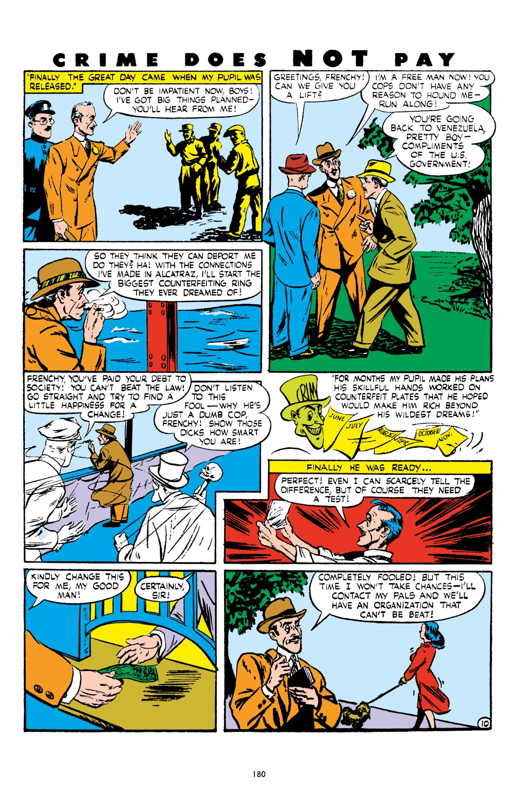 Read online Crime Does Not Pay Archives comic -  Issue # TPB 5 (Part 2) - 80