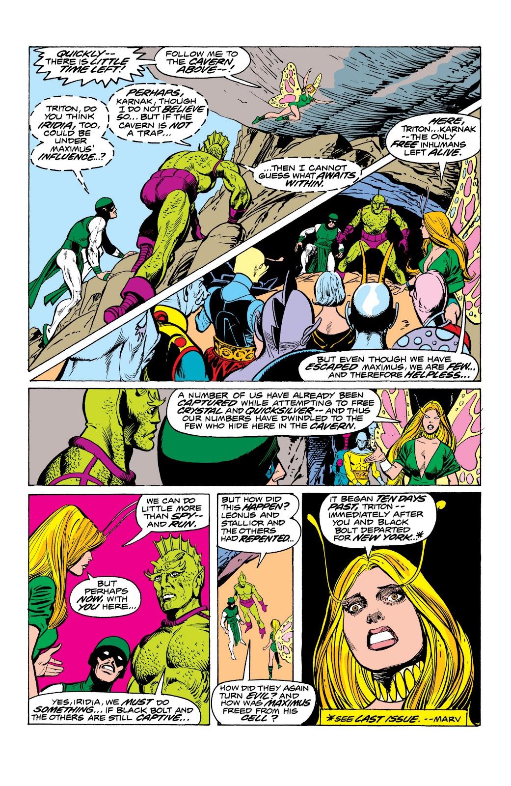 Read online Marvel Masterworks: The Inhumans comic -  Issue # TPB 2 (Part 1) - 93