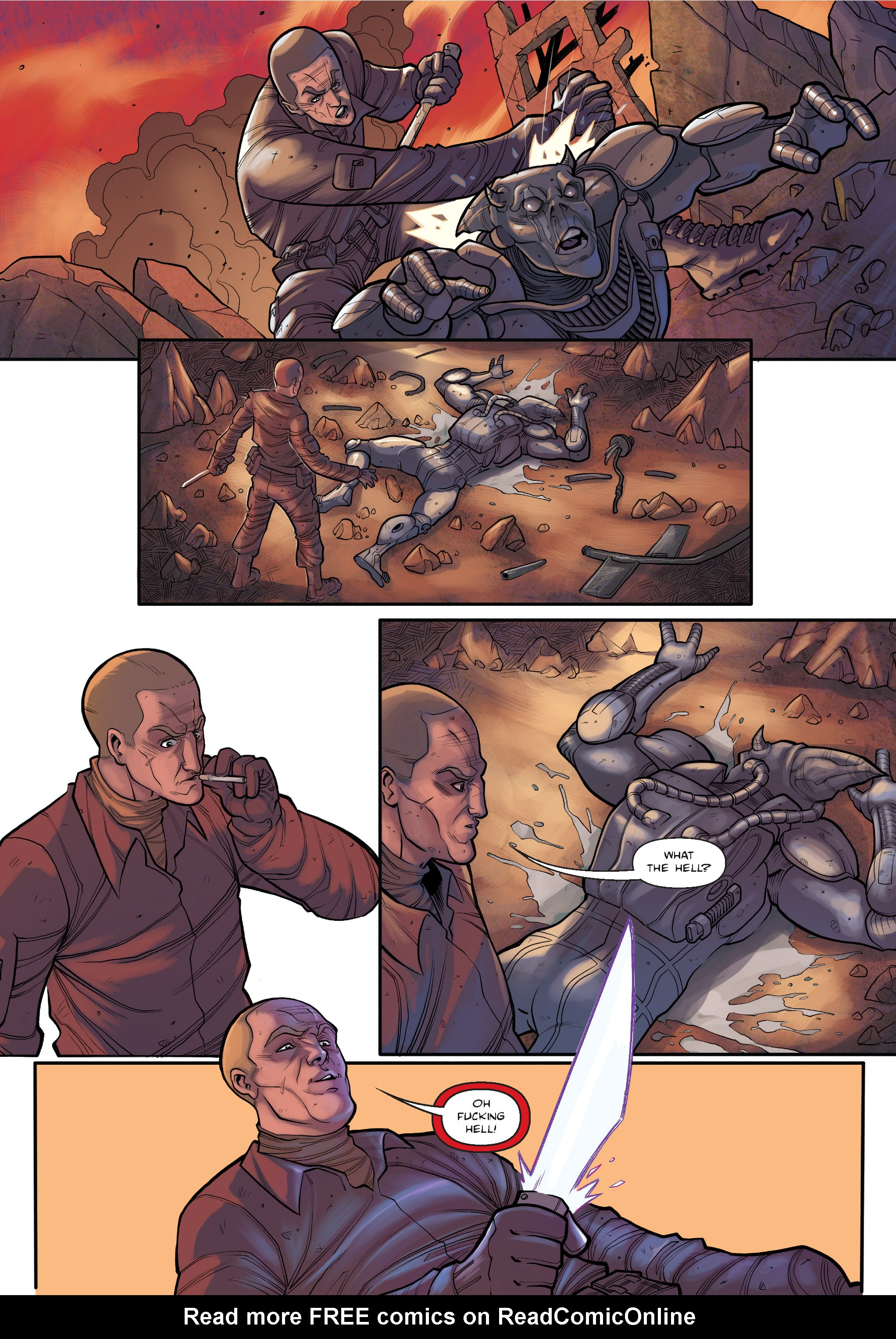 Read online The Shadow of a Terrible Thing comic -  Issue # TPB - 25