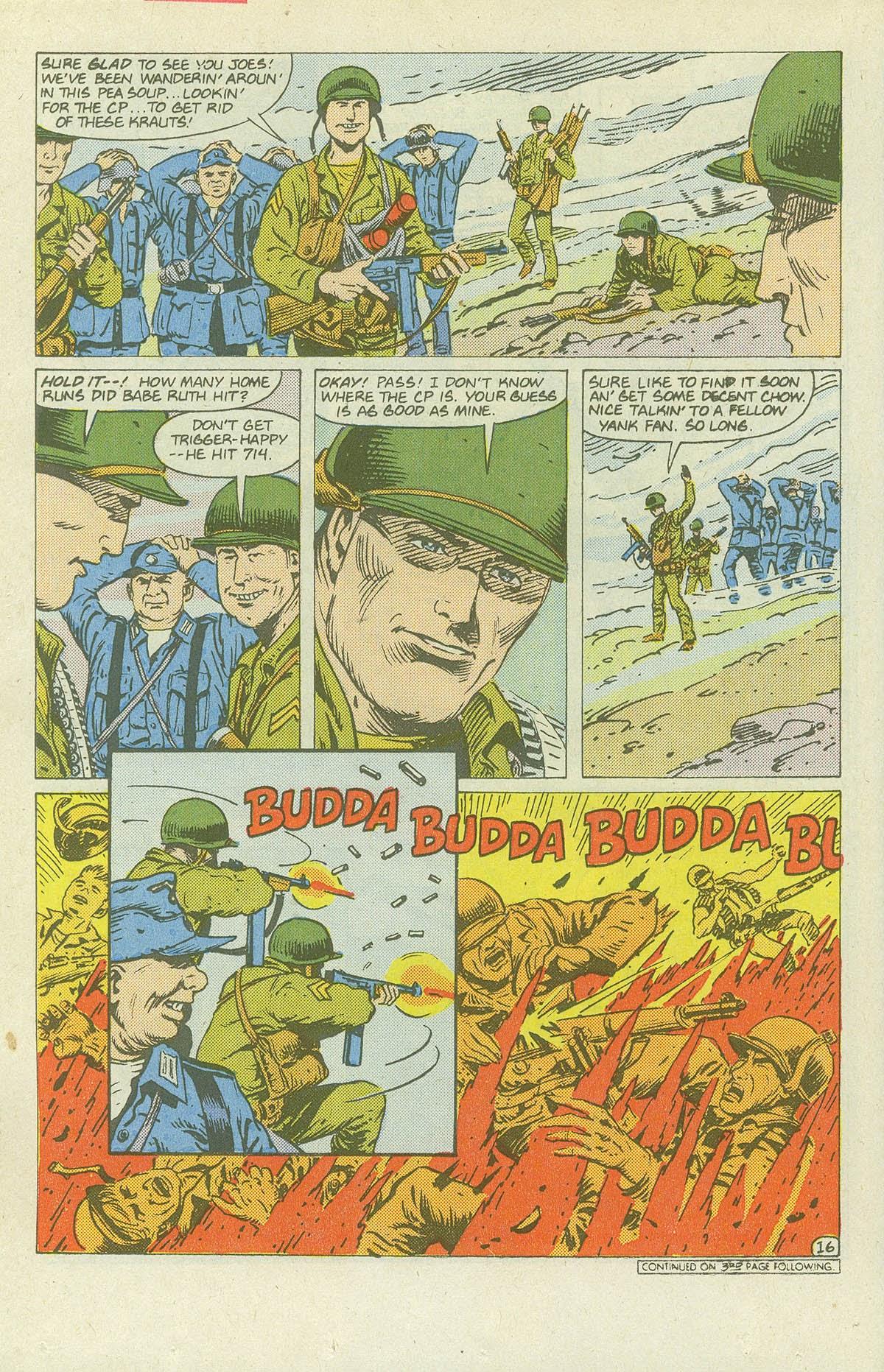Read online Sgt. Rock comic -  Issue #420 - 21
