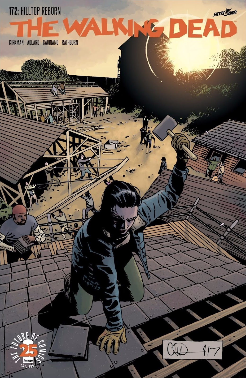 The Walking Dead 172 Page 1