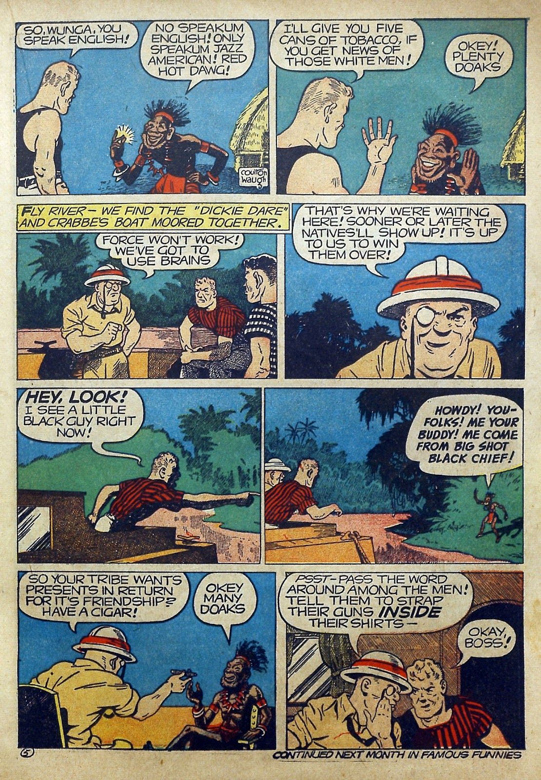 Read online Famous Funnies comic -  Issue #97 - 28