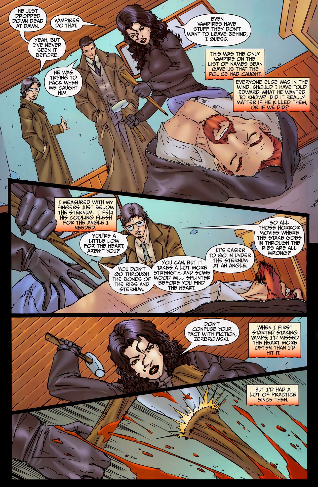 Read online Anita Blake, Vampire Hunter: The First Death comic -  Issue #2 - 22