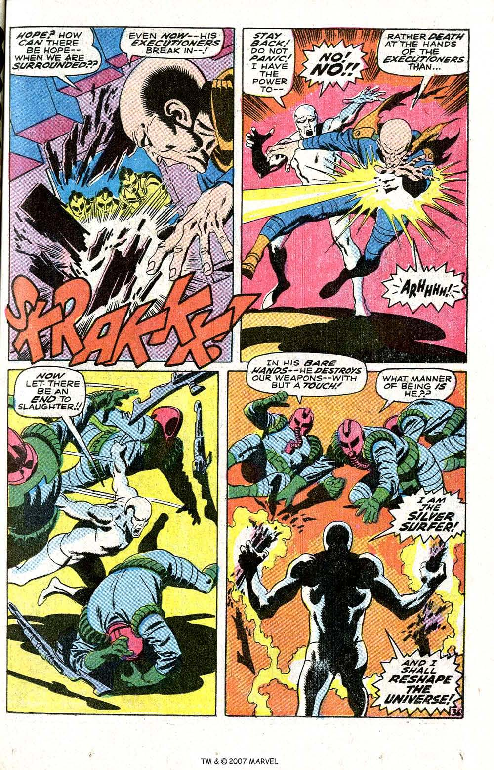 Read online Silver Surfer (1968) comic -  Issue #6 - 43