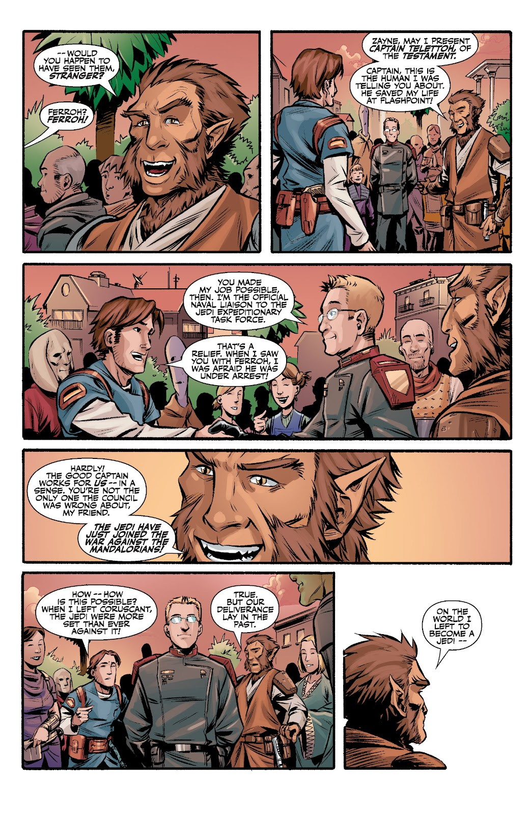 Read online Star Wars Legends: The Old Republic - Epic Collection comic -  Issue # TPB 3 (Part 2) - 6