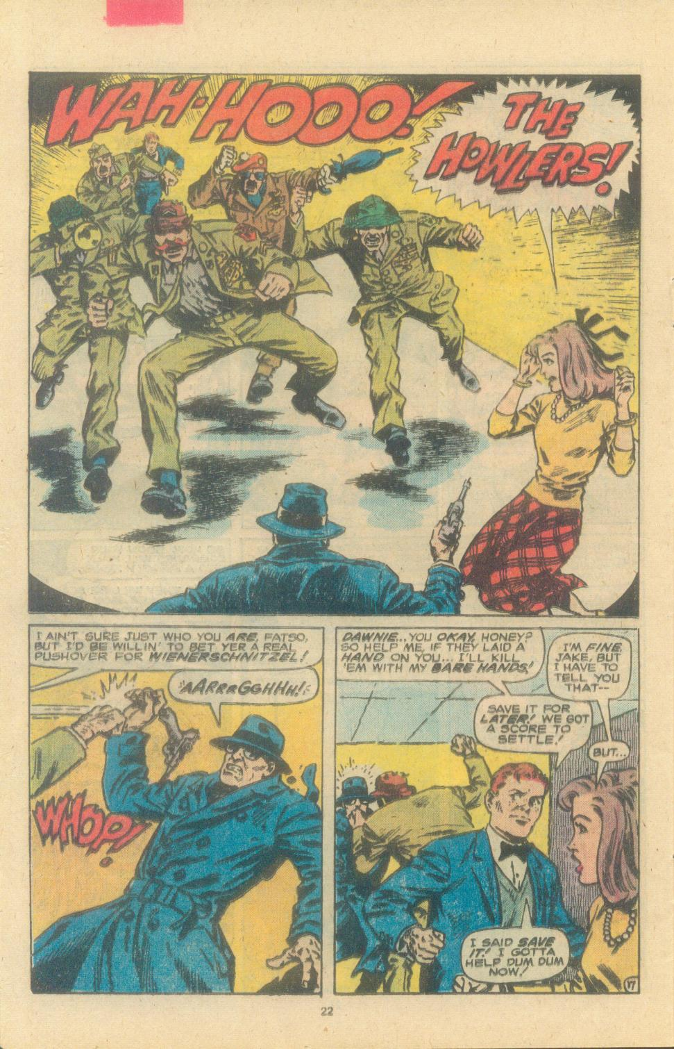 Read online Sgt. Fury comic -  Issue #163 - 24
