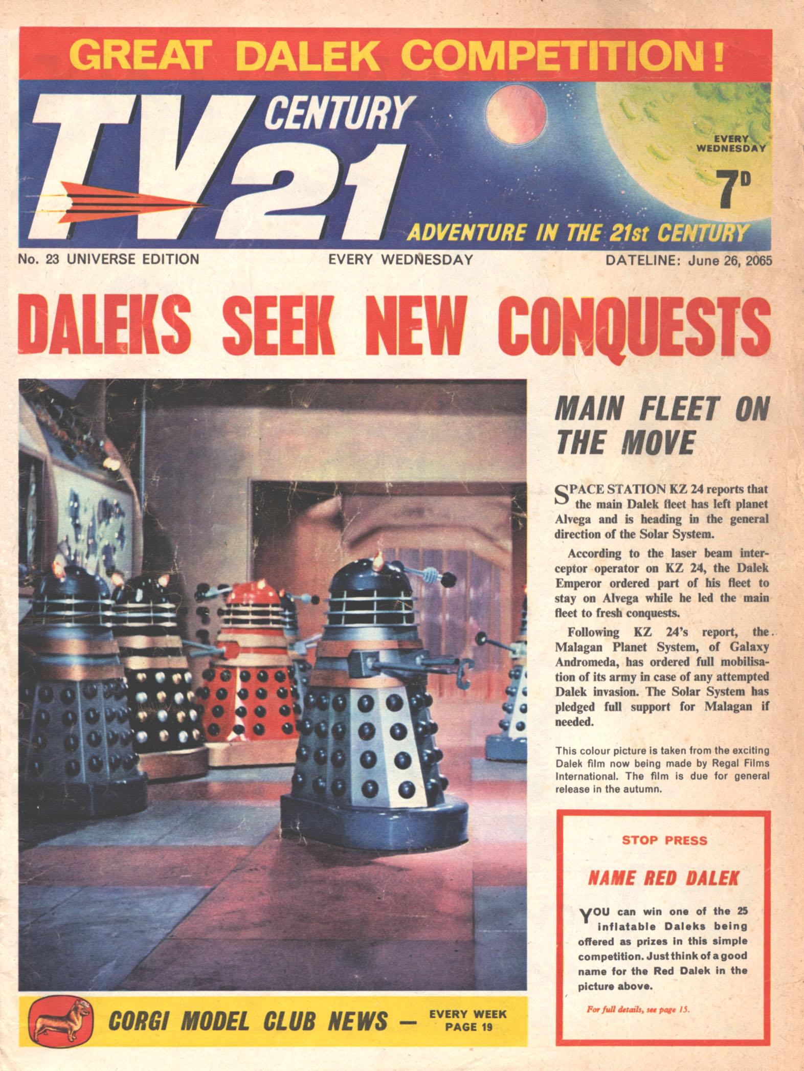 TV Century 21 (TV 21) 23 Page 1