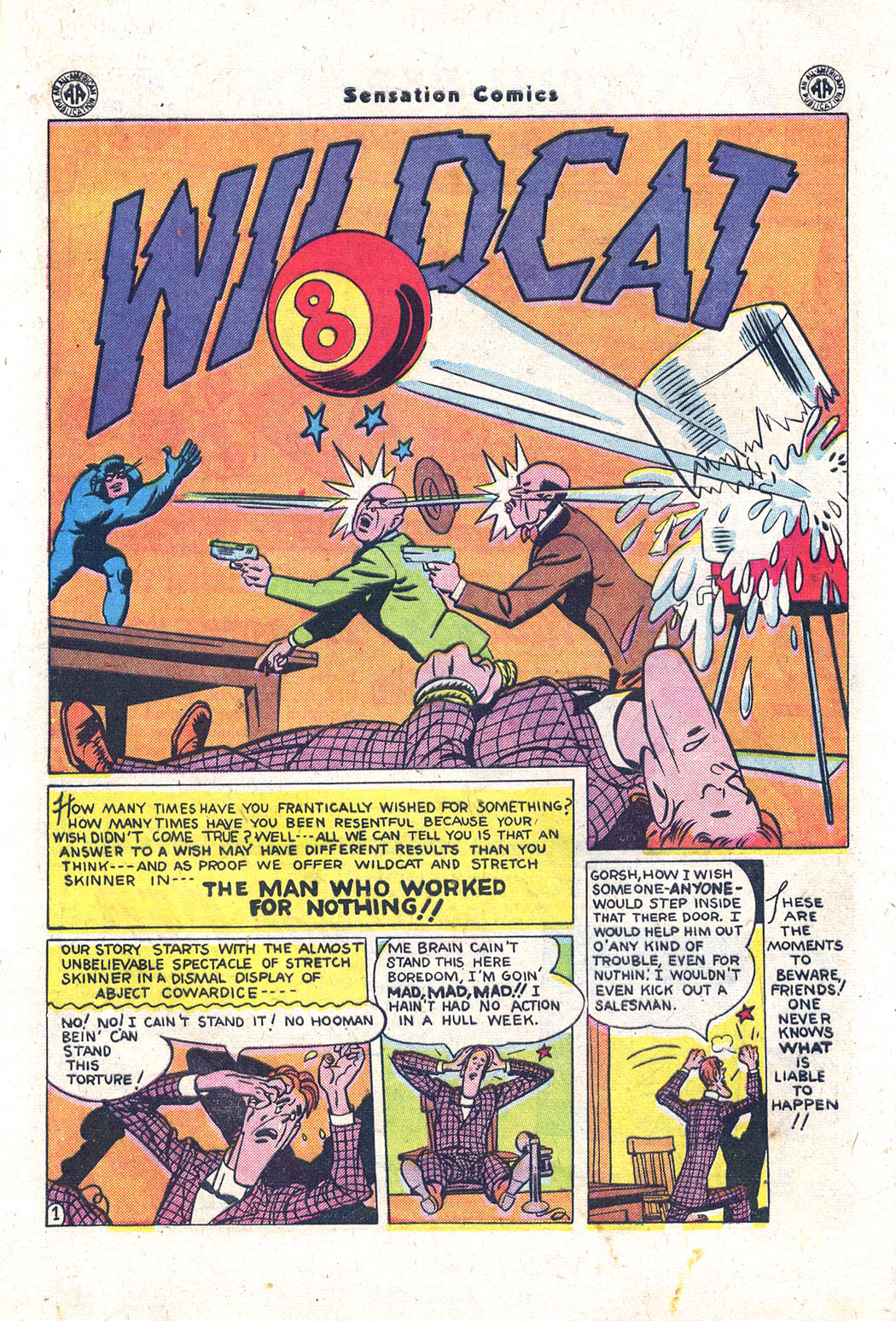 Read online Sensation (Mystery) Comics comic -  Issue #43 - 41