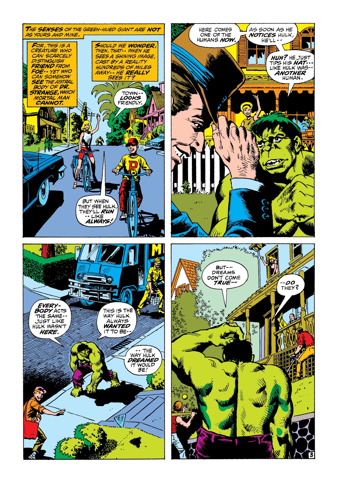 Read online Marvel Masterworks: The Incredible Hulk comic -  Issue # TPB 8 (Part 1) - 78