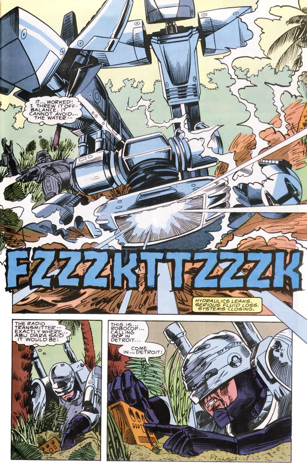 Read online Robocop (1990) comic -  Issue #6 - 20
