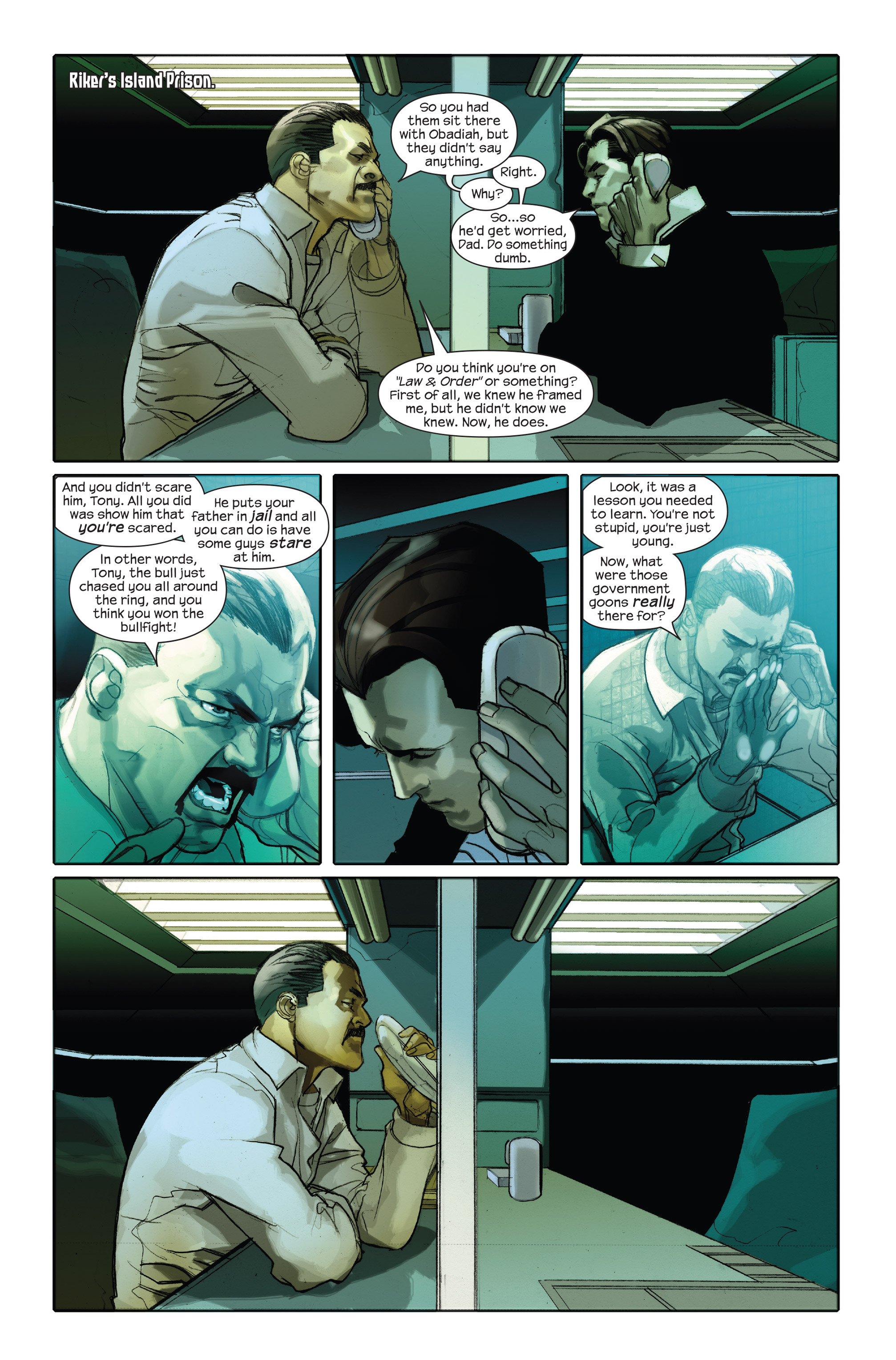 Read online Ultimate Iron Man II comic -  Issue #1 - 12