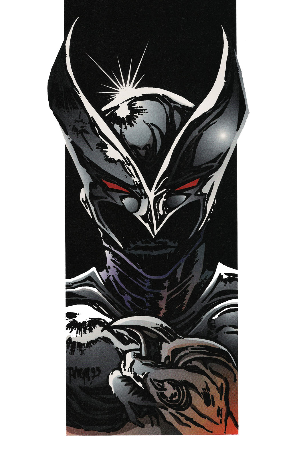Read online ShadowHawk Gallery comic -  Issue # Full - 6