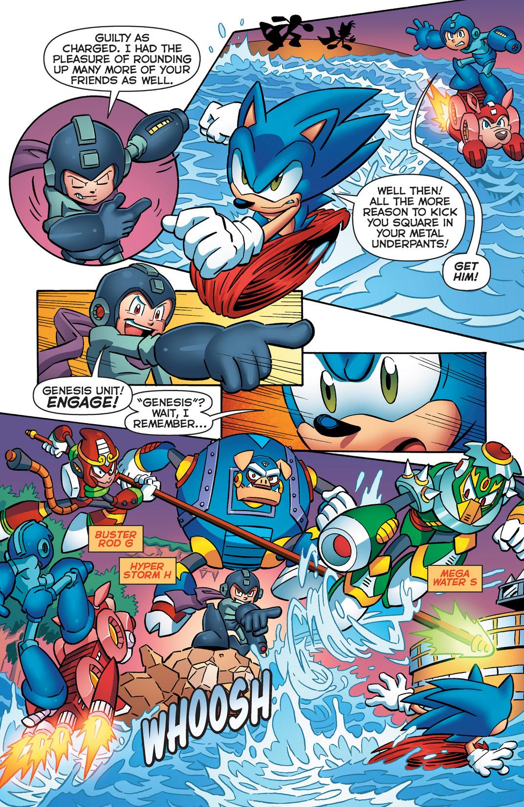 Read online Sonic Mega Man Worlds Collide comic -  Issue # Vol 2 - 13