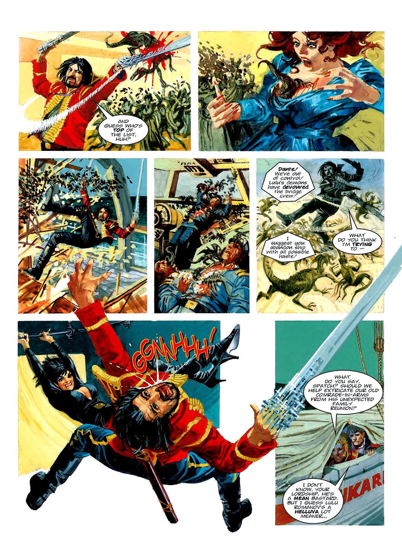 Read online Nikolai Dante comic -  Issue # TPB 6 - 141
